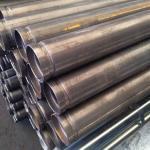 Tubo aço carbono ranhurado